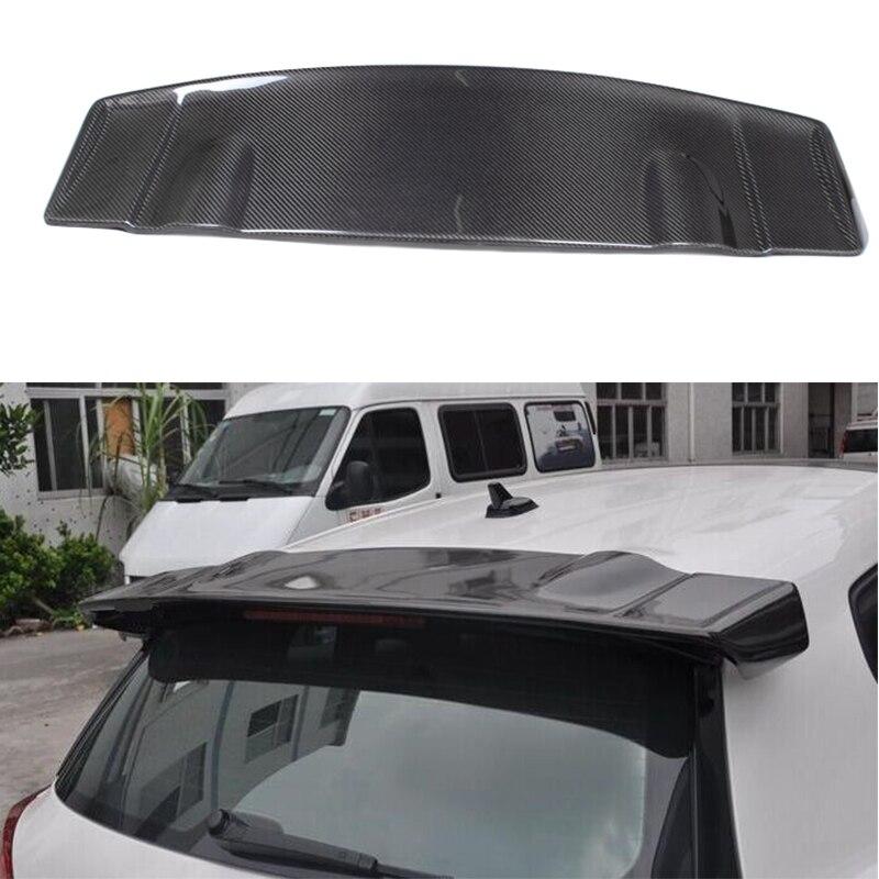VOTEX style Scirocco Carbon Fiber Rear roof Lip Wing spoiler For Volkswagen VW Scirocco 2010~2014 (not for R) car styling carbon fiber auto rear wing spoiler lip for vw scirocco 2010 2012
