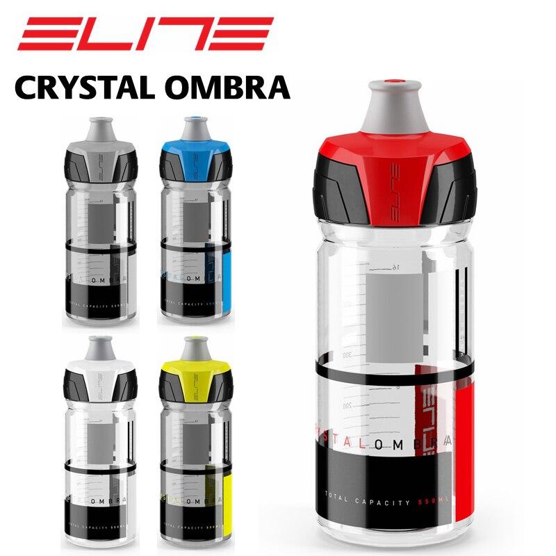 SHIMANO ELITE Elite Cristal Ombra 550 ml 750 ml Vélo vélo Bouteille D'eau Sport Bouteille D'eau dans Bicycle Water Bottle de Sports et loisirs