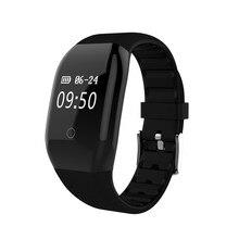 608HR Смарт-часы измерять кровяное давление/сердечного ритма фитнес-трекер Smart Браслет smartwatch для Android IOS Смарт Браслет
