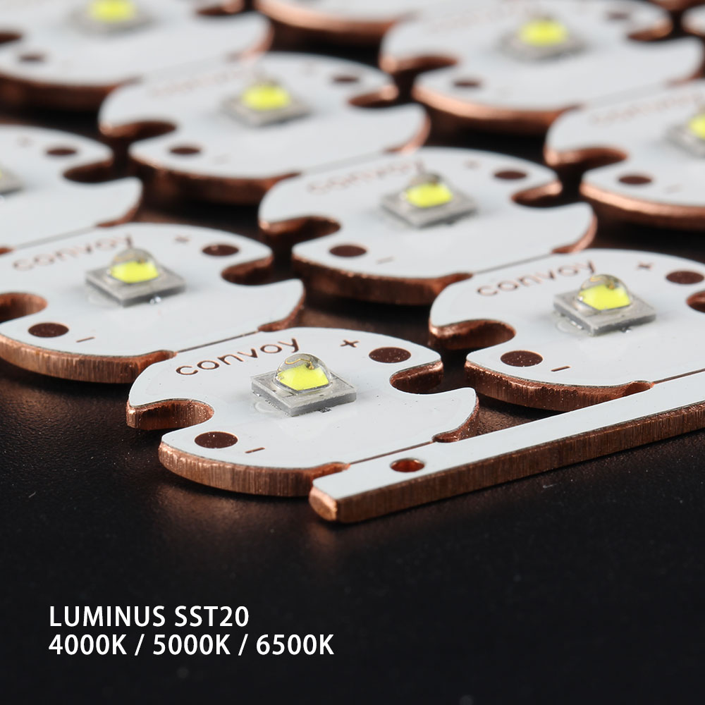 Licht & Beleuchtung Genial Luminus Sst20 2700 K 4000 K 5000 K 6500 K Auf 16mm/20mm Dtp Kupfer Bord Reine WeißE Beleuchtung Zubehör