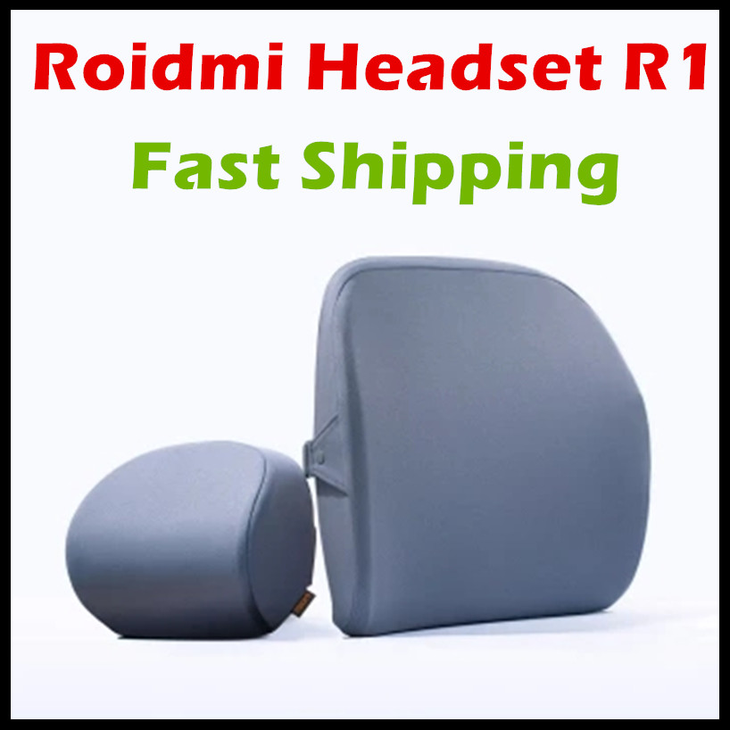 Original xiaomi mijia roidmi R1 car headrest Pillow cussion 60D Sense of memory cotton For xiaomi smart home kit Office & Car