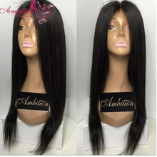 Top 7A Grade Malaysian Virgin Hair Full Lace Wigs 150 DENSITY silky straight Glueless Human Hair Lace Front wigs for black women