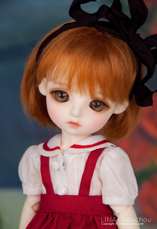 luodoll  BJD SD doll doll baby girl lina chouchou daisy 6 points (free delivery eye makeup}Free shipping