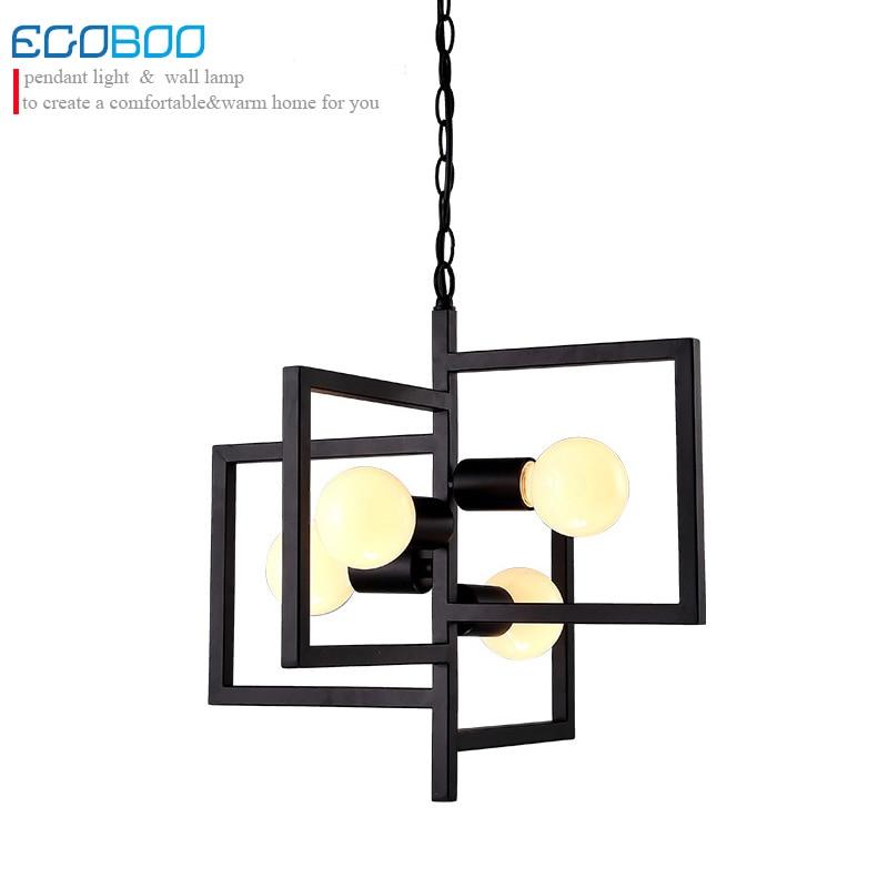 Новый современный творческая личность железа потолочный светильник сад гостиная лампа ресторан спальни современный минималистский Искус...