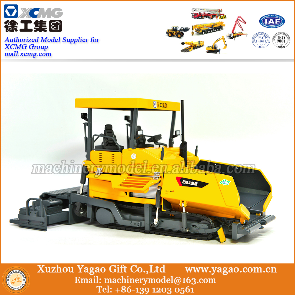 1:35 Scale Model, Diecast Model, Zinc Alloy Replica, Construction Model, XCMG Paver Model, Gift rare xcmg xde360 super large mine dump truck 1 50 scale diecast model