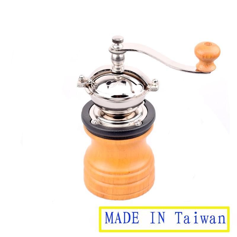 Machine à café manuelle de moulin à café 304 broyeur de noyau d'acier inoxydable