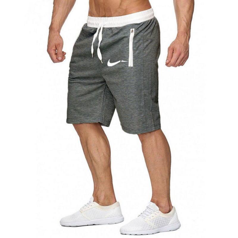 Color patchwork Men jogger shorts sports shorts men 39 s Bermuda shorts 2019 summer men 39 s casual men 39 s knee long shorts in Casual Shorts from Men 39 s Clothing
