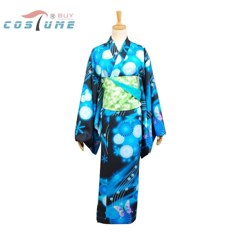 Vocaloid Hatsune Miku Project DIVA Cosplay Costumes For Women Bathrobe Kimono Anime Halloween Costumes
