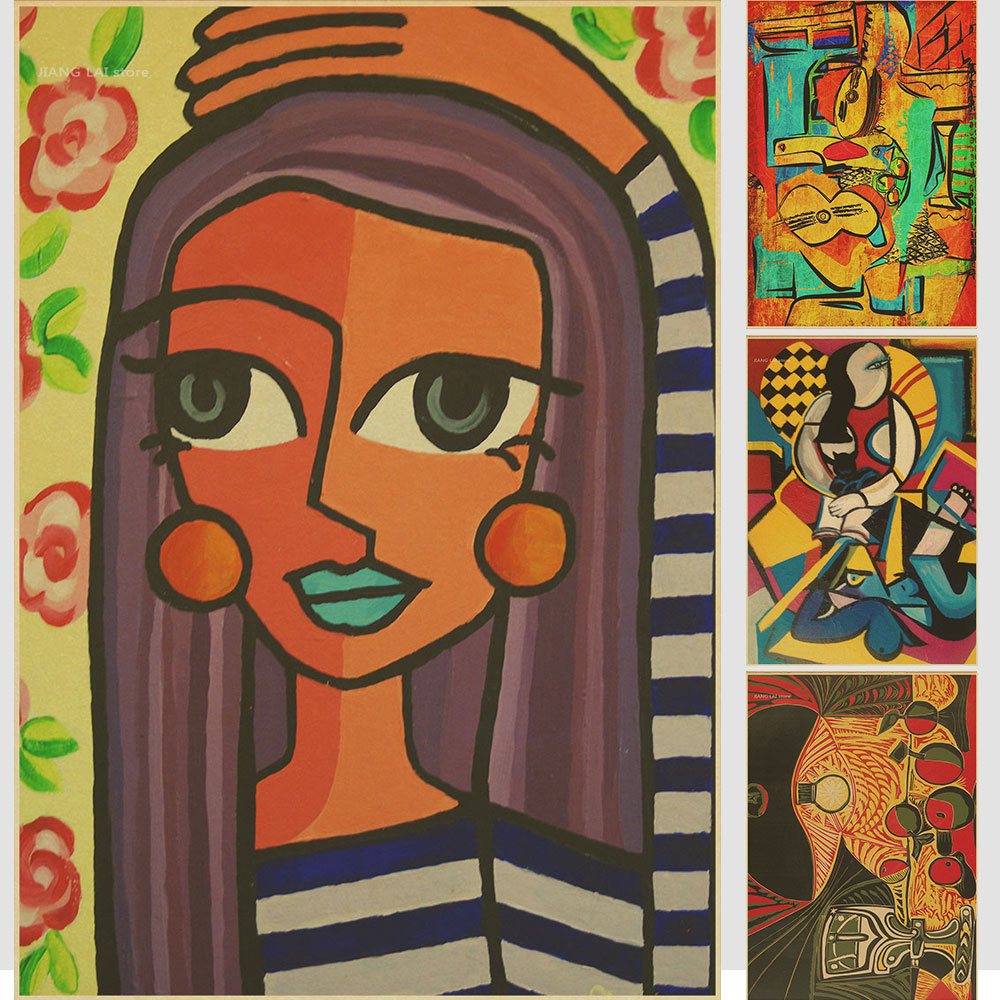 World famous painter Picasso paintings album painting