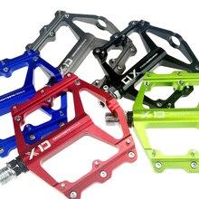 Shanmashi XD ЧПУ Алюминиевый сплав горный велосипед педали Нескользящие плоские платформы MTB BMX шоссейные велосипедные педали 5 цветов