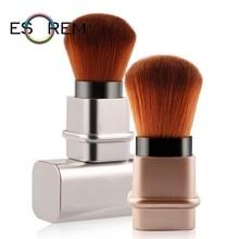 ESOREM Hot Sale Portable Blush Brush Powder Brushes Square Scalable Makeup Foundation Brochas Maquillaje 5436