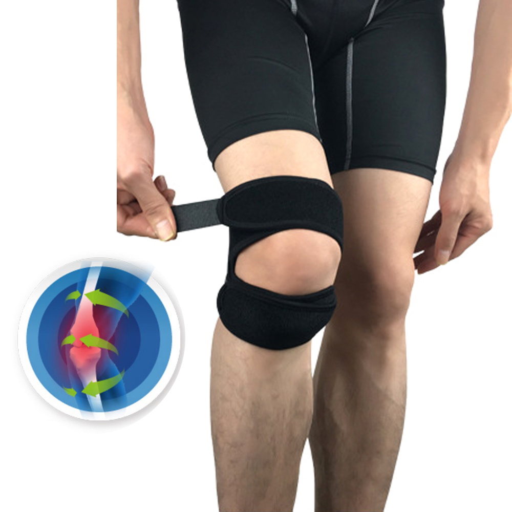 Knee Support Patella Belt Sport Strap Knee Pads Protector Band For Knee Brace Football Sports Fitness Tendon Adjustable