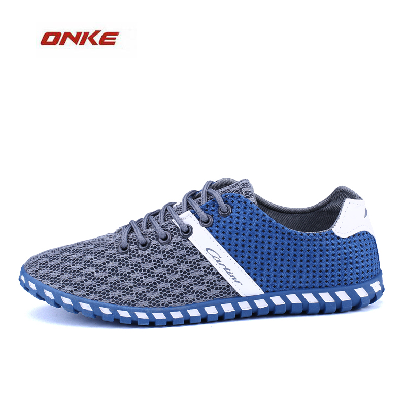 2017 ONKE Running Shoes Man Walking Exercise Sneaker Outdoor Sports Breathable Summer Light Weight Sneaker Male Footwear