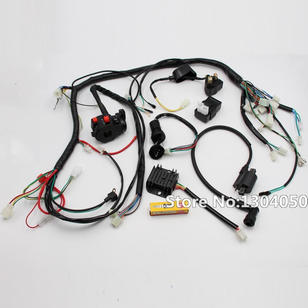 Wiring Harness Loom : Aliexpress buy full electrics wiring harness loom