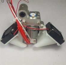 Ultimaker V6 hot end metal mount full assembly kit Jhead metal mount holder for Ultimaker 3D printer PT100 sensor