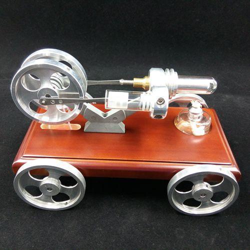 Стрюн модели автомобиля игрушки автомобиля вождения энергосбережение и охрана окружающей среды модель игрушки Паровой автомобиль