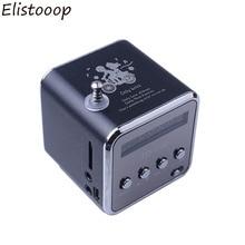 2019 TD V26 Speaker Mini FM Radio Receiver MP3 Music Player LCD soundbar Micro SD TF Music Stereo Loudspeaker for Laptop