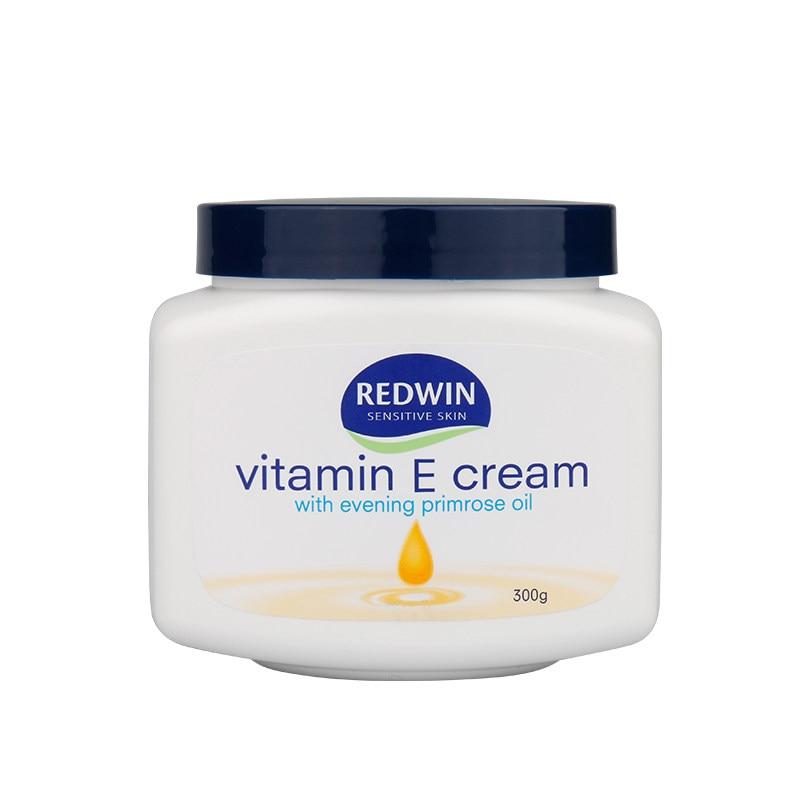Redwin Vitamin E Cream 300g for Dry Skin Face Body Neck Moisturizer Increase Skin Elasticity Evening Primrose Oil Soften Smooth
