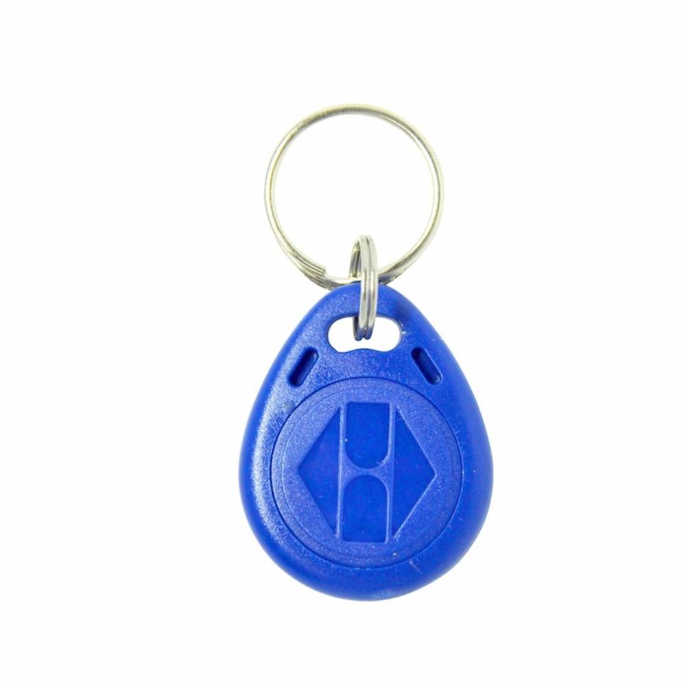 100PCS/Lot RFID Tag Key Keyfobs Ring Proximity ID Token Tags 125Khz RFID Card Proximity Chip ID For Attendance System 50pcs lot 125khz rfid proximity em id card token tk4100 tags key keyfobs for access control time attendance