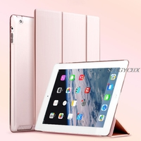 Case For IPad 234 Pro 9 7 SZEGYCHX Color PU Ultra Slim Magnet Wake Smart Cover