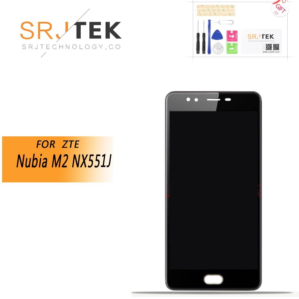 "ORIGINAL 5.5"" For ZTE Nubia M2 NX551J LCD Display+Touch Screen Panel Digiziter For ZTE Nubia M2 NX551J LCD Display Replacement"