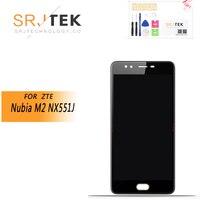 ORIGINAL 5.5 For ZTE Nubia M2 NX551J LCD Display+Touch Screen Panel Digiziter For ZTE Nubia M2 NX551J LCD Display Replacement