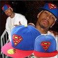 Camuflagem esporte ajustável Cap Snapback tampas homens mulheres chapéu de verão chapéu super-homem cobra YY0777
