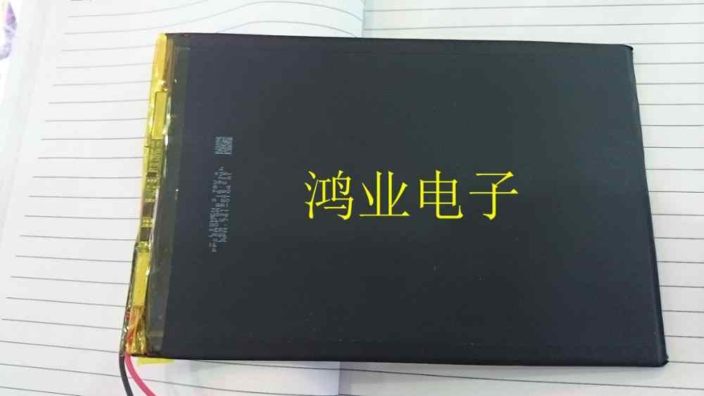 Geïmporteerd Een polymeer core 25100150 ultradunne notebook tablet batterij 4600 Ma Oplaadbare Ion Cell