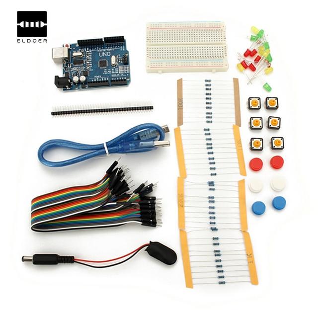 Mini Breadboard LED Jumper Widerstand Kit Modul Integrierte ...