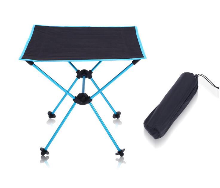 Outdoor Ultralight Aluminium Alloy Folding Table For Garden Casual Camping Picnic Fishing A013