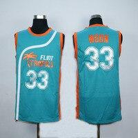 Flint Vùng Nhiệt Đới Jersey #33 Trăng Bán Pro Jackie Bóng Rổ Jerseys #7 Cà Phê Đen Khâu Movie Throwback Jerseys Viva biệt th