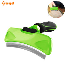 VOVOPET Pet Cats hair brush grooming tool Comb Arc-shaped  Detachable Cat Deshedding Brush Pets Grooming Combs