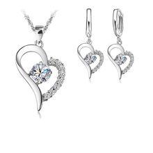 Классические модные Ювелирные наборы из стерлингового серебра