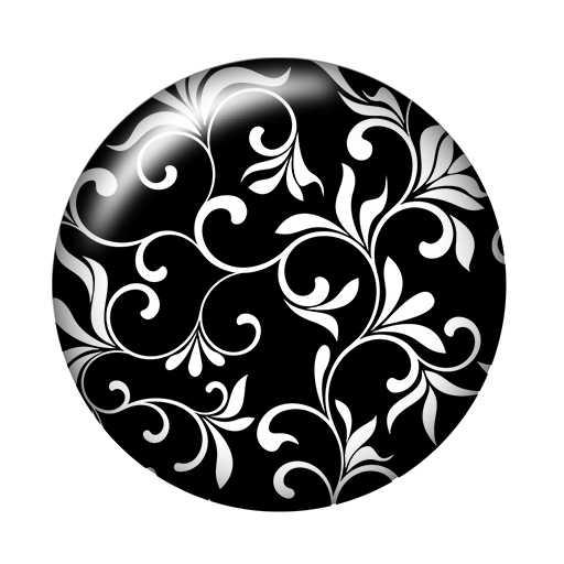 יופי שחור דפוס 10 pcs מעורב 12mm/16mm/18mm/25mm עגול תמונה זכוכית קרושון הדגמה שטוח חזור ביצוע ממצאי ZB0462