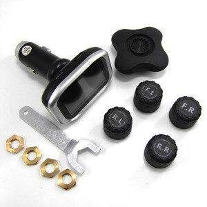 Image 5 - Система контроля давления в шинах TPMS, цифровой прикуриватель с ЖК дисплеем, система сигнализации, давление в шинах TP720