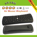 2.4Ghz Wireless mini teclado USB Air Mouse Keyboard Gyroscope Remote Control for PC/Smart TV/Android TV Box/TV Dongle