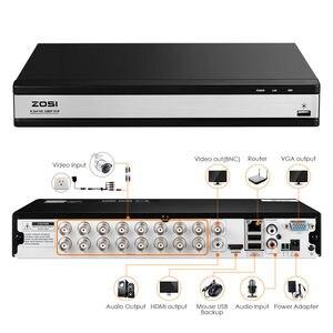 Image 2 - ZOSI HD 1080P 16CH DVR Überwachung Video Recorder H.264 P2P DVR Recorder Telefon Überwachung Für Kamera Sicherheit System