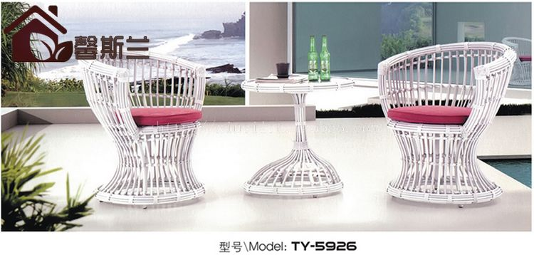Купить с кэшбэком Outdoor furniture. Creative leisure rattan chair. A three-piece personality the cane makes up furniture