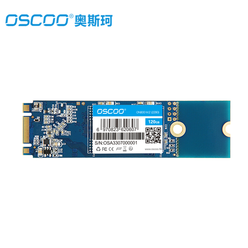 OSCOO MLC NAND FLASH SSD 60GB 120GB 240GB 480GB Internal Solid State Drive Hard Disk M.2 NGFF 2280 Interface For Laptop Desktop цена