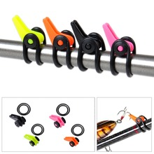 New Plastic Fishing Rod Pole Easy Hook Keeper For Lures Bait Spoon Treble Holder Small Shackle Rock Rafting Fishing Tackle Acc