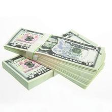 100 шт. деноминальный американский доллар поддельные деньги с американские характеристики памятный сувенир банкноты подарки Прямая доставка
