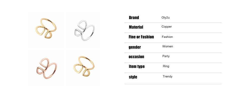 a846baac1247 ₩Oly2u 1 Piece -R015 Open Wire band cute simple ring adjustable ...