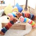 NUEVO perro de dibujos animados oruga juguetes de peluche almohada cojín de peluche de regalo del bebé para el bebé niños de los niños de regalo de cumpleaños novia