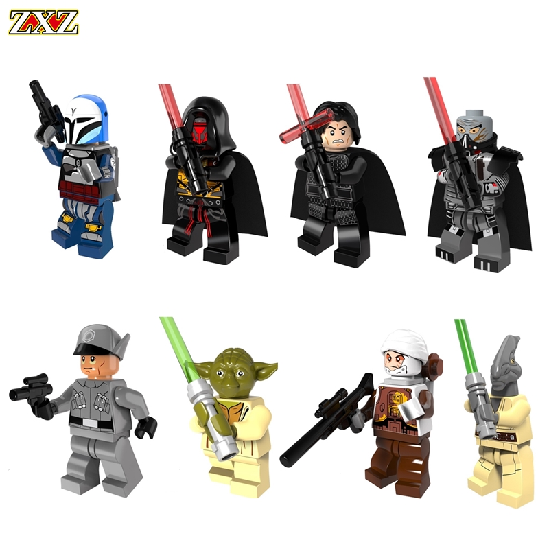 Diy Super Heroes Star Wars Building Blocks Batman figures compatible With Legoingly Bricks Kids Toys For Children birthday Gifts