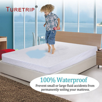 Russian Size 180X200 Terry Waterproof Mattress Cover Anti Allergen Bed Bug Protection Cheap Mattress Protector Washable Covers