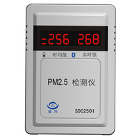 PM2.5 detector Air quality monitor Dust particle counter PM2.5 detector Concentration Meters Gas Analyzers connect with PC