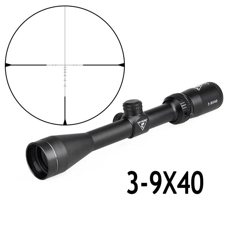 FLIEGEN SHARK 3-9x32 jagd scopes 3-9x40 optik zielfernrohre 3-9x50 Taktische zielfernrohr airsoft air pistolen zielfernrohr