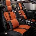2016 nuevo! de cuero especial funda de asiento de coche para todos los modelos de asiento negro/beige/rojo/azul/orange coche accesorios car styling