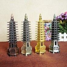 Metal Crafts China Wenchang nine pyramid model backgammon inspirational home decor ornaments a gift