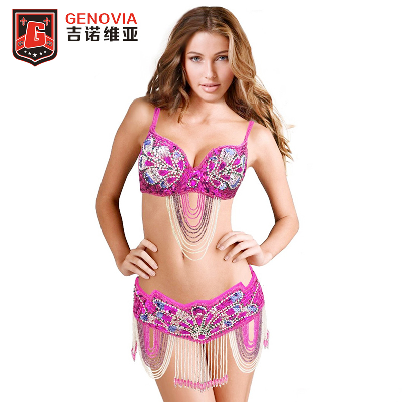 Lace Woman Belly Dance Costume Suits Top/&skirt Performance Wear Skirt